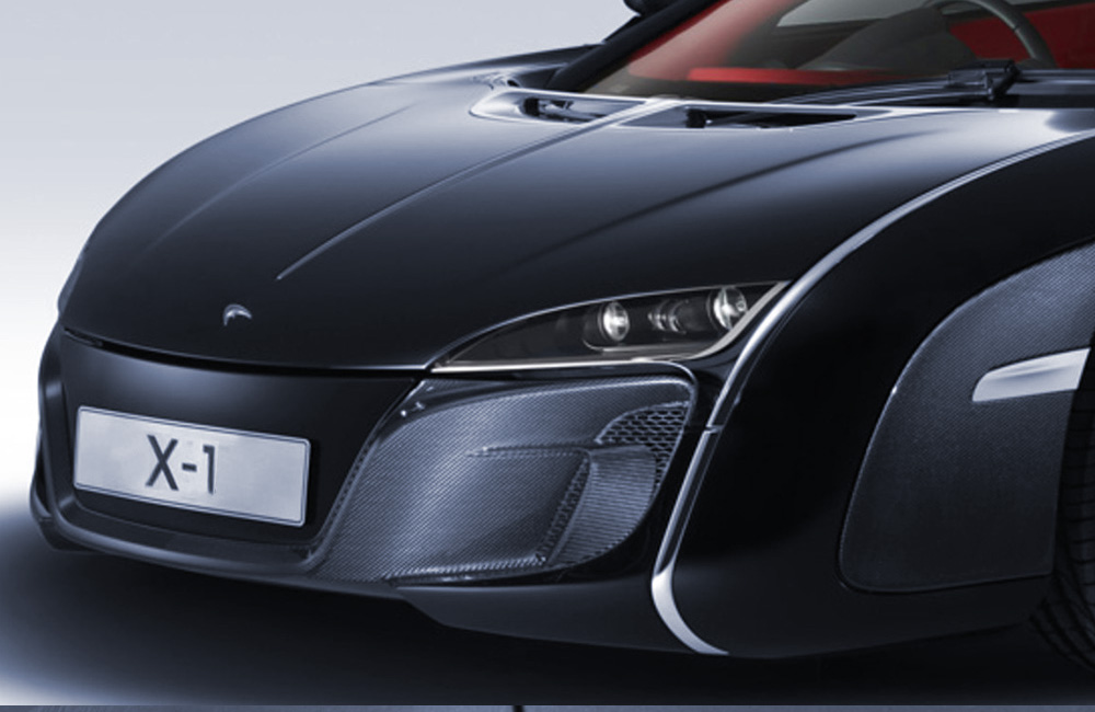 2012 | McLaren X1 | Headlamp